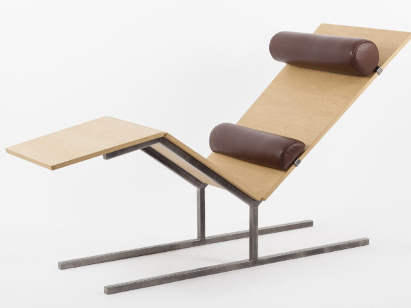 Designer chaise lounge