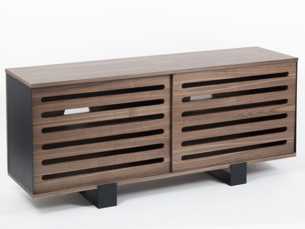 Designer Sideboard in wood and metal