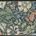 Motif floral dessiné par William Morris