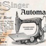 Publicité Singer